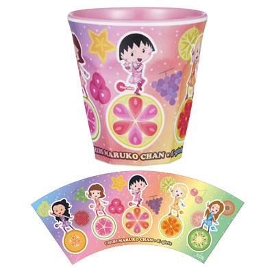 ちびまる子ちゃん×E-girls メラミンカップ 商品画像