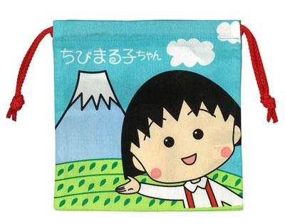 巾着 ちびまる子ちゃん(富士山) 商品画像