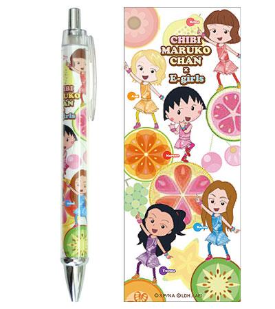 ちびまる子ちゃん×E-girls ボールペン 商品画像