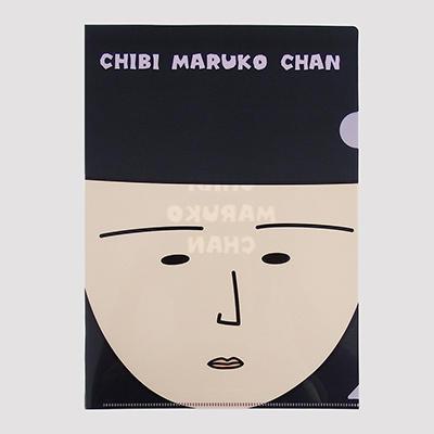 クリアファイル フェイスデザイン(まる子)(まる子ガーン)(永沢君)(野口さん) 商品画像