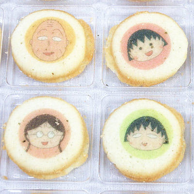 「ちびまる子ちゃん」キャラクターチョコラングドシャ 商品画像