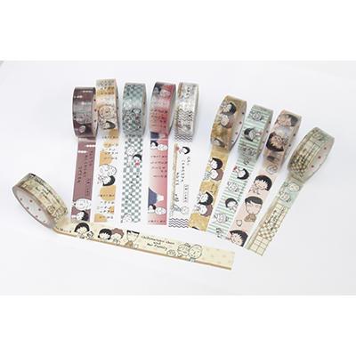Shinzi Katoh×ちびまる子ちゃん マスキングテープ(15mm幅) 商品画像