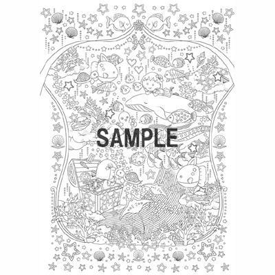 塗り絵セレクション【ちびまる子ちゃん】 商品画像