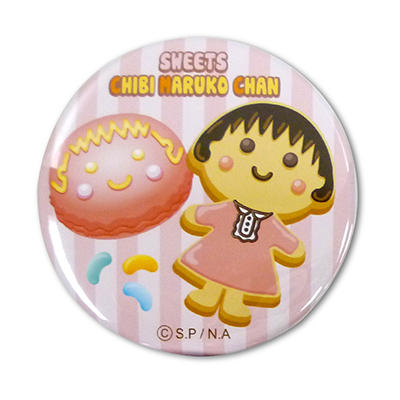 缶バッジ スイーツちびまる子ちゃん 商品画像