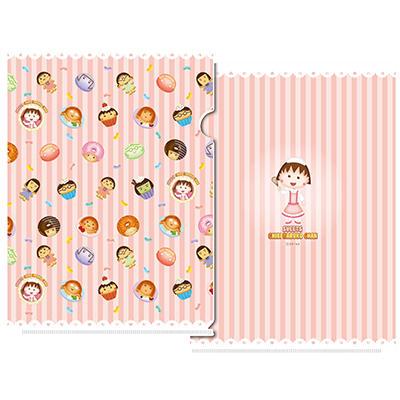 クリアファイル スイーツちびまる子ちゃん 商品画像
