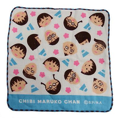 ガーゼハンカチ まる子と友達・富士山 商品画像