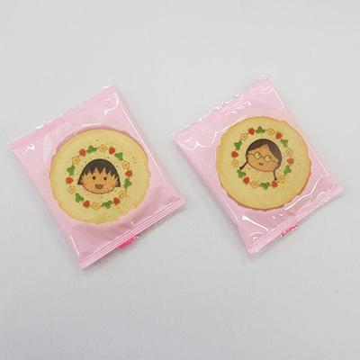 ちびまる子ちゃん クリームサンド いちご味 商品画像