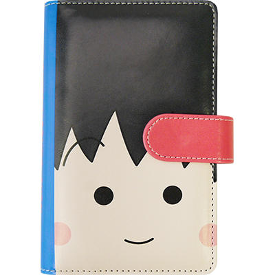 「ちびまる子ちゃん 手帳型スマートフォンケース」全2種 商品画像