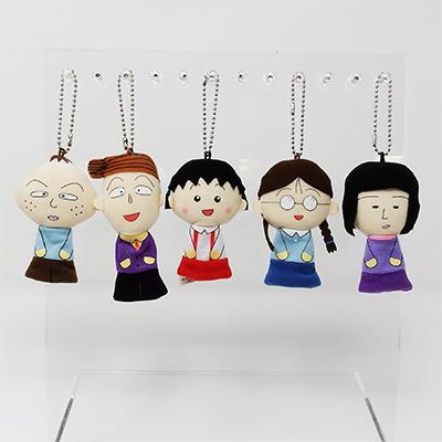 ちびまる子ちゃん 指人形マスコット(5種) 商品画像