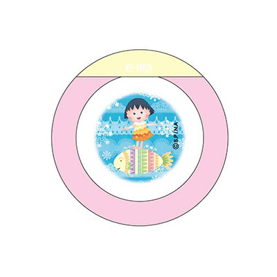 プリe-ma新デザイン「うみ」まる子・たまちゃんが登場! 商品画像