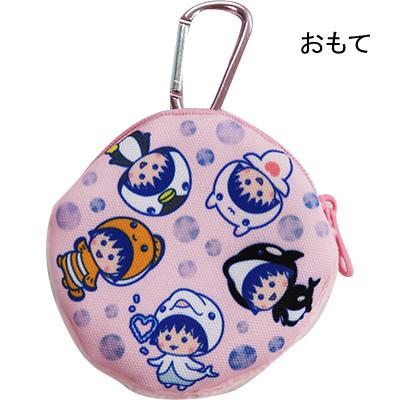 ちびまる子ちゃん アクアリウム コインパース(ピンク)(ブルー) 商品画像