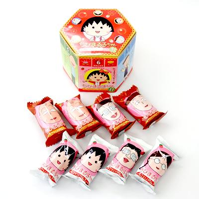 ちびまる子ちゃん いちごミニバウムクーヘン 商品画像