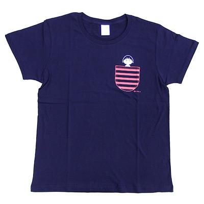 ちびまる子ちゃん Tシャツ ボーダーポケット M・L 商品画像