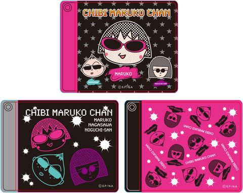 CHIBI MARUKO CHAN(Rock Style)パスケース(A)(B)(C) 商品画像