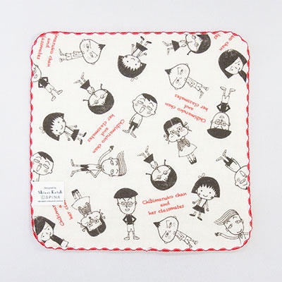 Shinzi Katohデザインコラボタオルチーフ(お友達4種) 商品画像