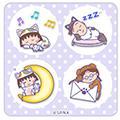 「おやすみちびまる子にゃん」のマチキャラが登場!